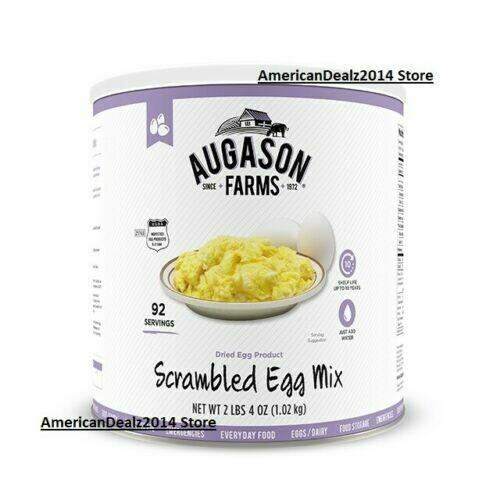 Scrambled Egg Mix 2 Lbs 4 Oz No. 10 Can FRESH!! SEALED!!