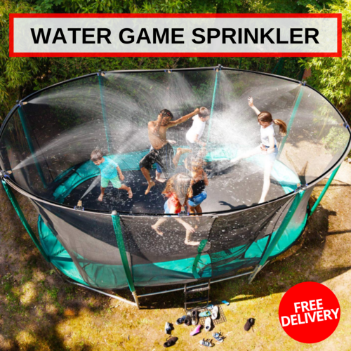 Outdoor Water Game Sprinkler For Kids Fun For Summer Safe & Cool Funny Waterpark