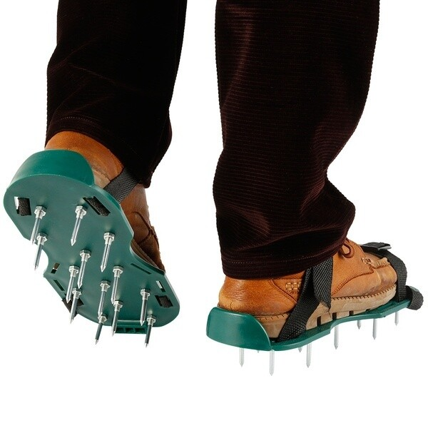 Lawn Aerator Shoes Heavy Duty Garden Tool