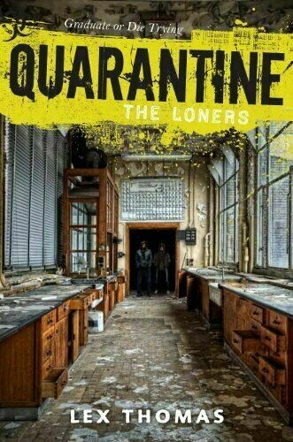 Complete Set Series - Lot of 4 Quarantine books by Lex Thomas Loners Giant