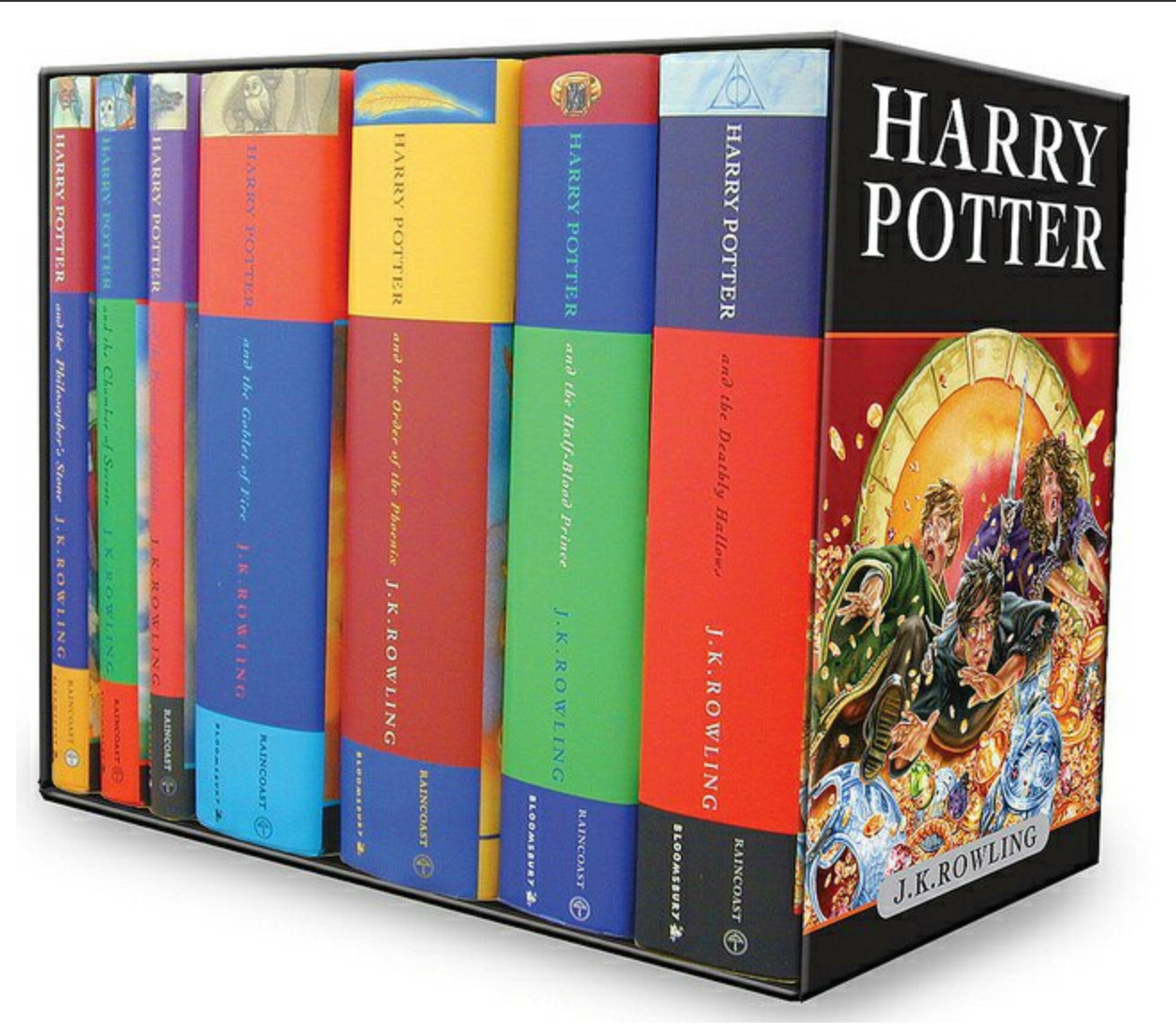 Harry Potter [Complete Collection] BY J K Rowling (Ebook)