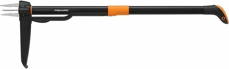 Fiskars 4-Claw Weeder 39 Inch , Black/Orange (339950-1001) by Fiskars