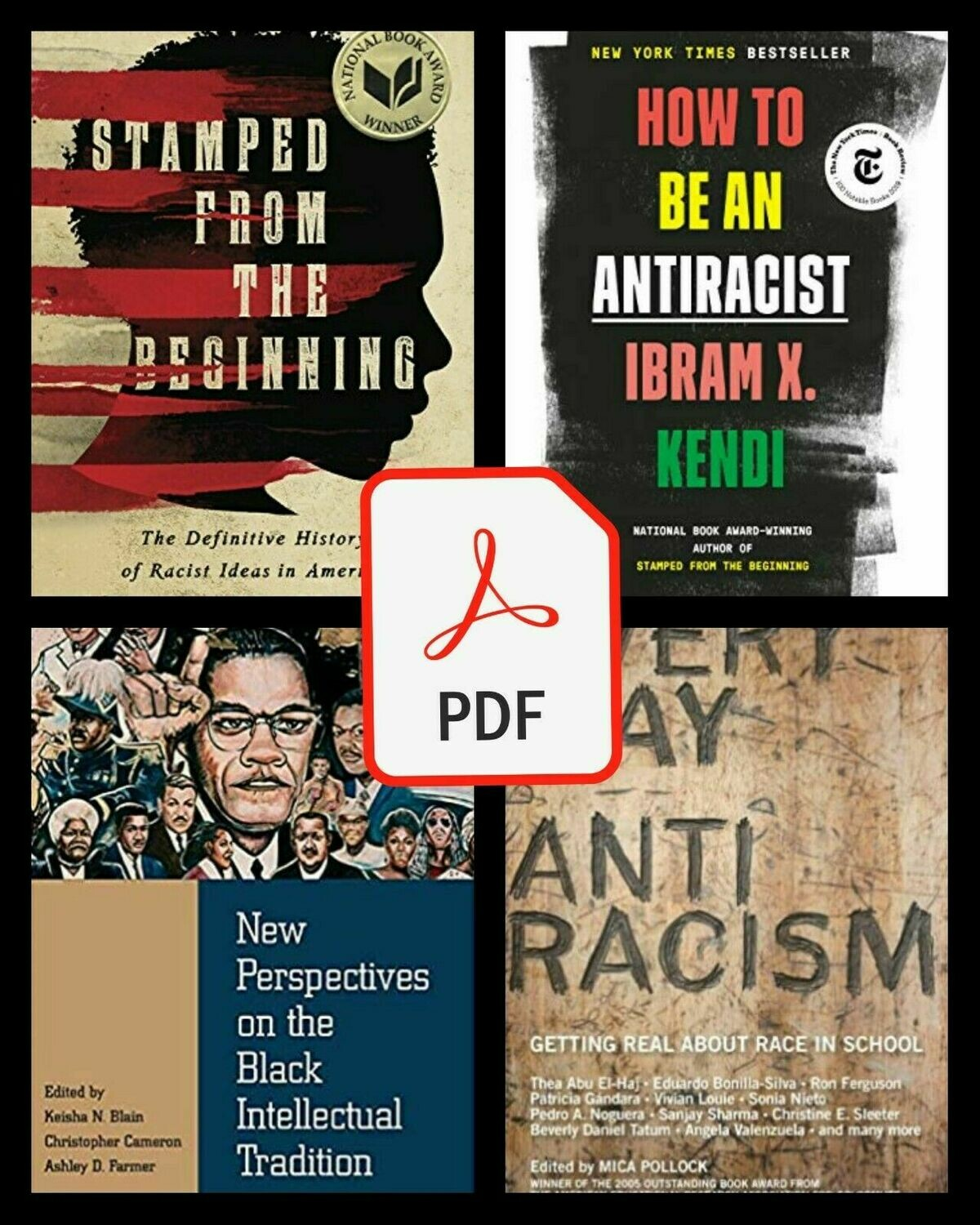 """Ibram X. Kendi 4 Book Collection of Racism in America Bundle Deal """"📚 P.D.F version 📚"""