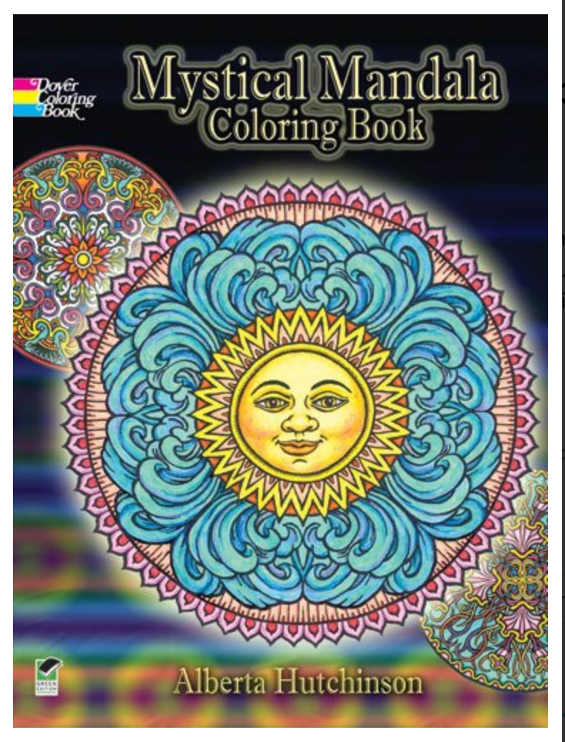Mystical Mandala Coloring Book (Dover Coloring Books) BY Alberta Hutchinson ✅ËḂÕÕǨ✅ṖḊḞ📖