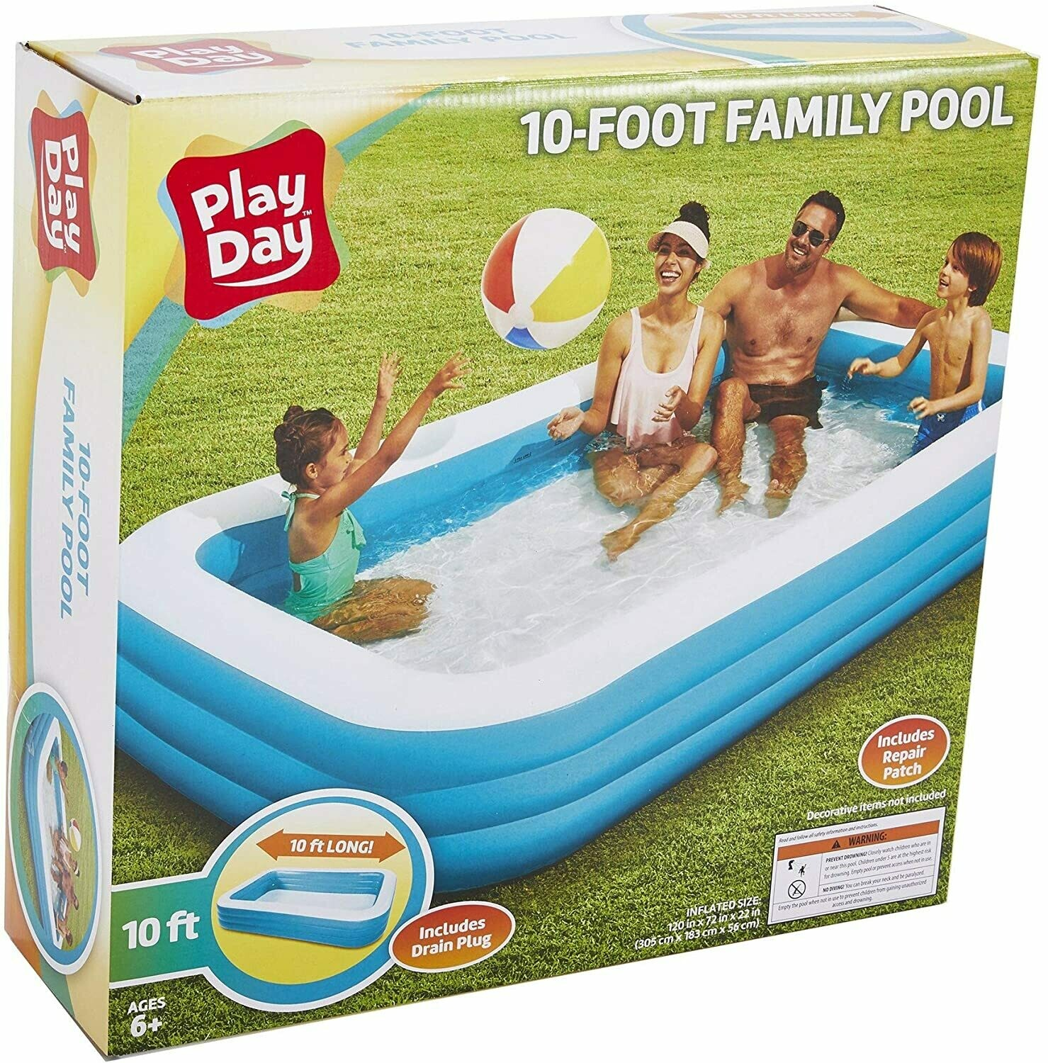 10 foot family pool. Lowest Price. Best Seller 2020