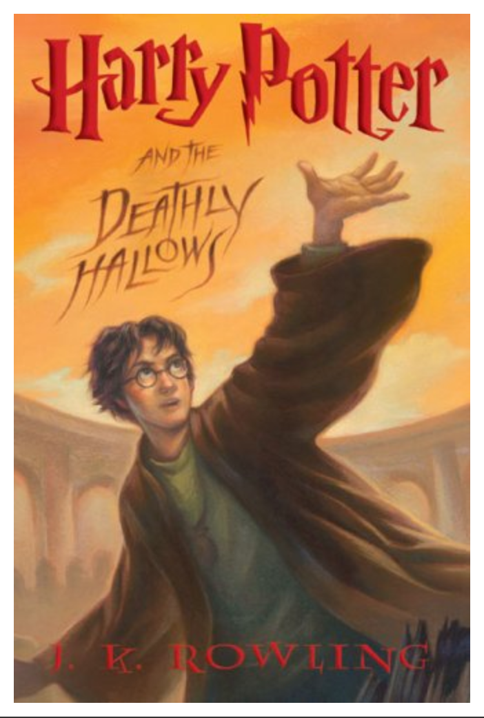 Harry Potter and the Deathly Hallows, Book 7 ( Ebook)