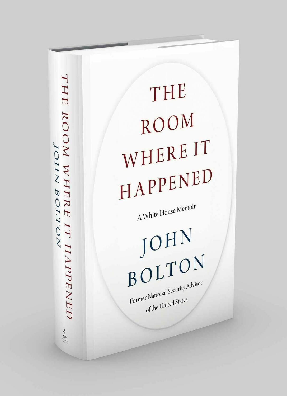 The Room Where It Happened: A White House Memoir John Bolton ( Ebook ) PDF . Instant Access