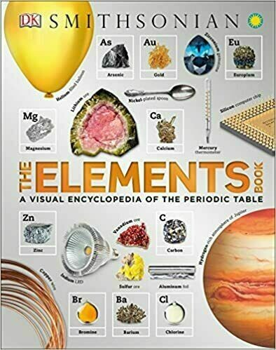 The Periodic Table Book: A Visual Encyclopedia of the Elements By DK [Ebook ]