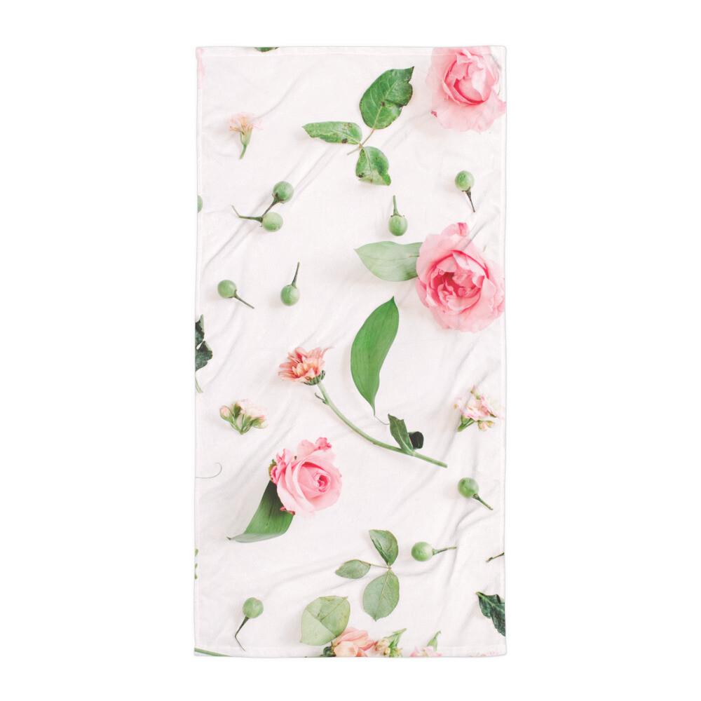 Floral Print Towel