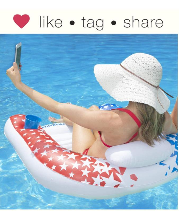 American Stars Paradise Chair Swimming Pool Float