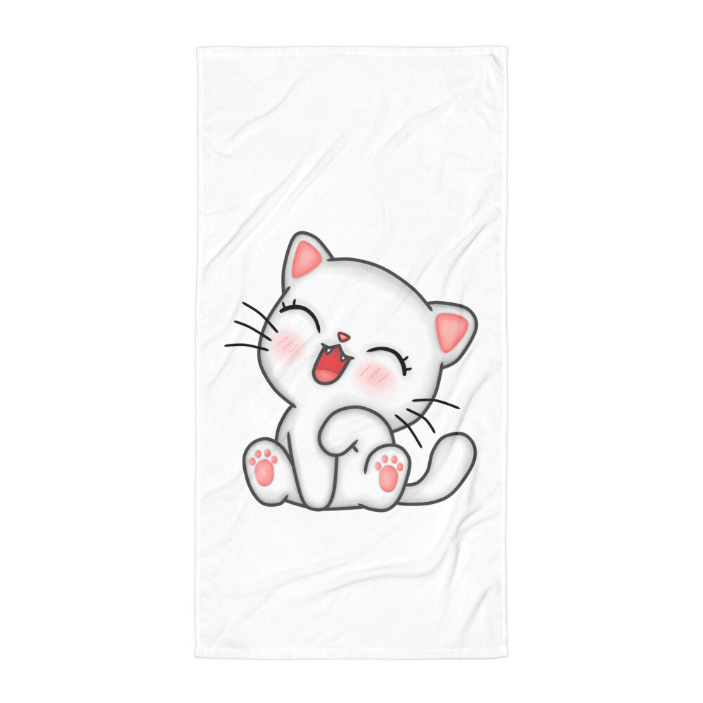 Cute Kitty Towel
