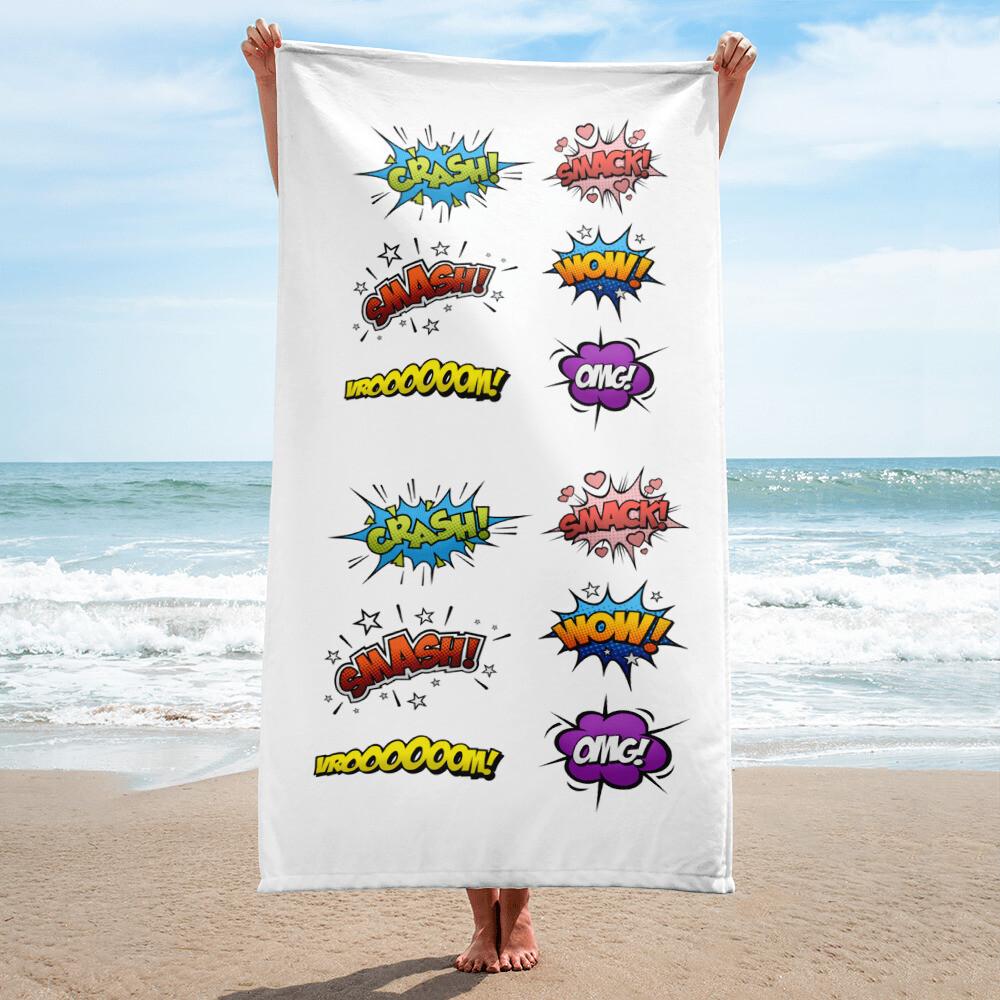 Funny Beach Towel