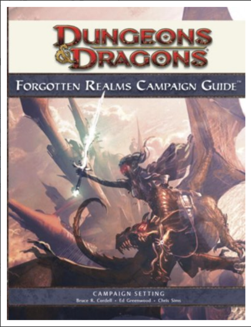 Forgotten Realms Campaign Guide (Dungeons & Dragons)  by Bruce R. Cordell, Ed Greenwood, Chris Sims, Philip Athans [ ebook] pdf- printable