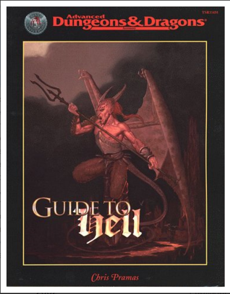 Guide to Hell (Advanced Dungeons & Dragons, 2nd Edition, Accessory 11431) BY Chris Pramas