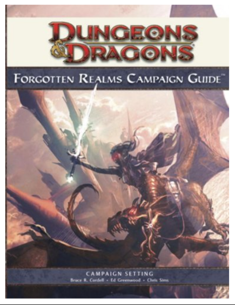 Forgotten Realms Campaign Guide (Dungeons & Dragons) By Bruce R. Cordell, Ed Greenwood, Chris Sims, Philip Athans [Ebook] Printable- PDF
