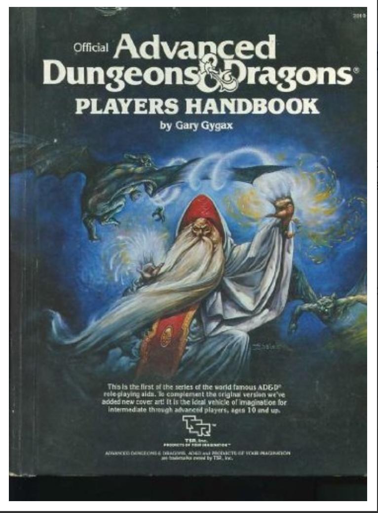 Player's Handbook (Advanced Dungeons & Dragons) Gary Gygax [ EBOOK] PDF