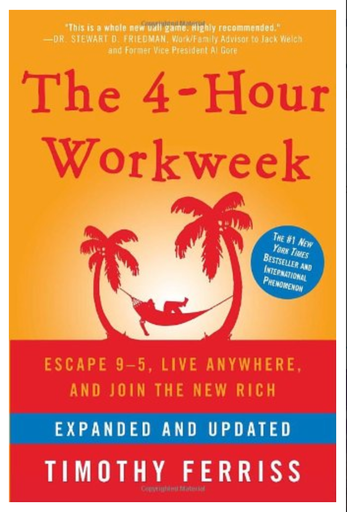 The 4-Hour Workweek: Escape 9-5, Live Anywhere, and Join the New Rich (Expanded and Updated) By Timothy Ferriss [ EBook] PDF