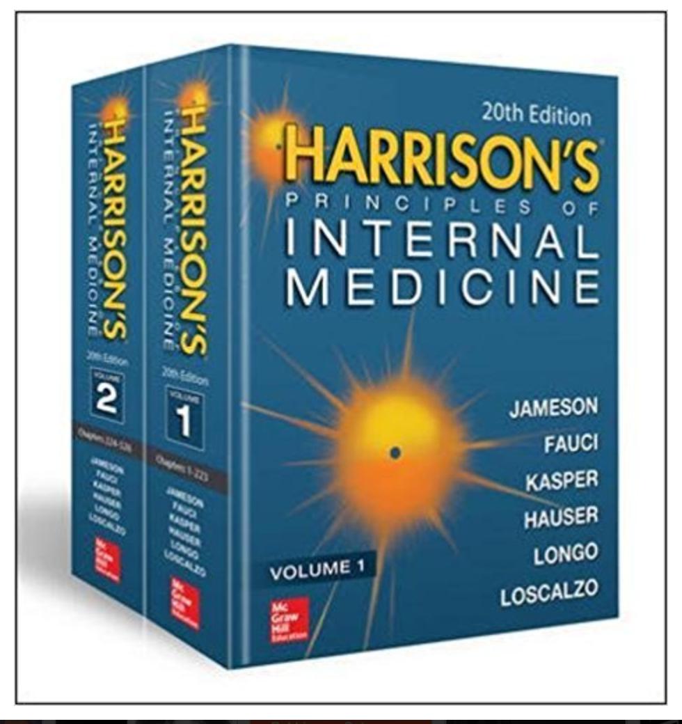 Harrison's Principles of Internal Medicine BY J. Larry Jameson et al. [ EBook] PDF