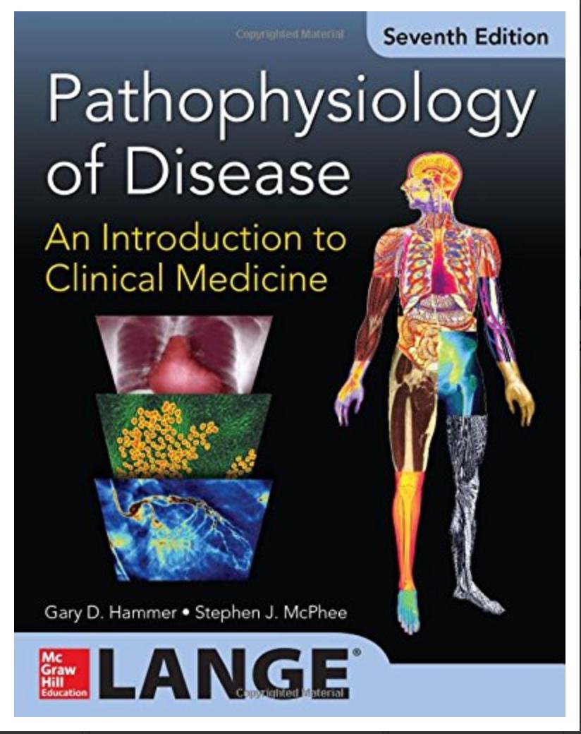 Pathophysiology of Disease: An Introduction to Clinical Medicine 7/E BY Gary D. Hammer, Stephen J. McPhee [ EBOOK ] PDF