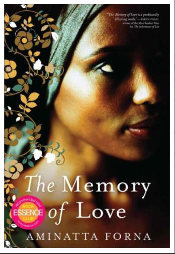 The Memory of Love BY Aminatta Forna [ EBook] PDF