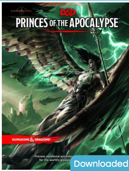 Dungeons & Dragons: Princes of the Apocalypse Wizards RPG Team [ EBook ] Ebook