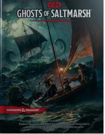 Ghosts of Saltmarsh By Wizard's RPG Team [ EBook] PDF