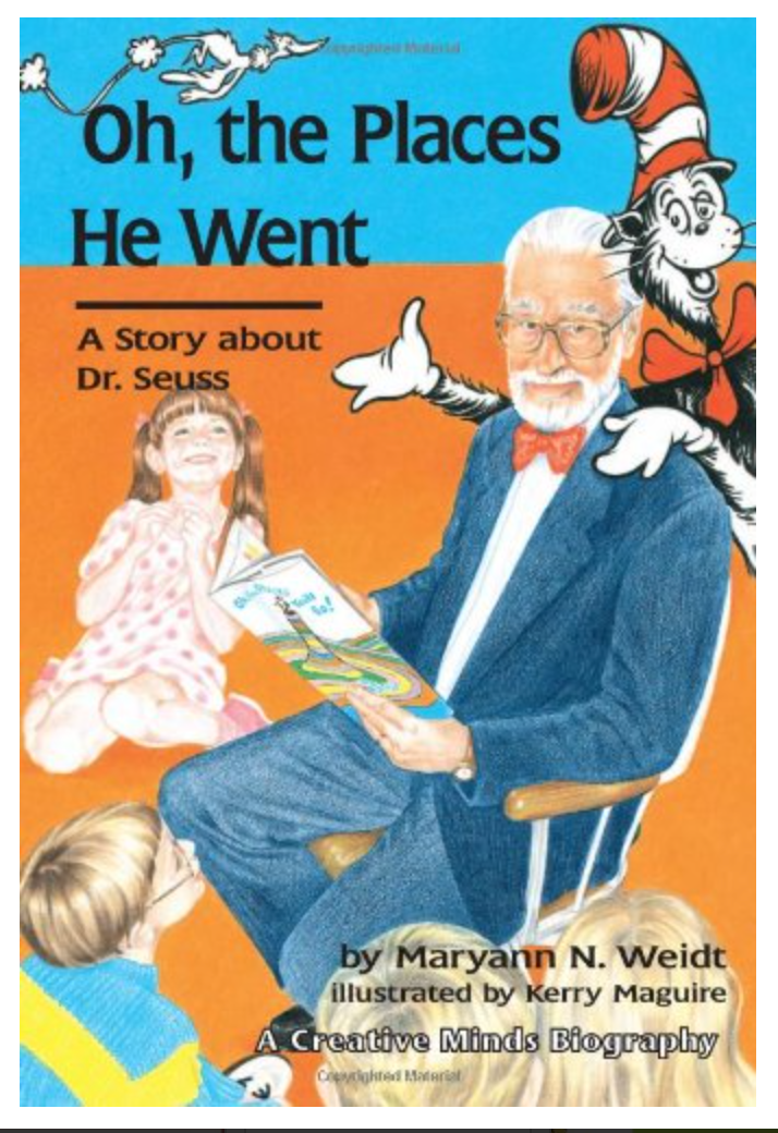 Oh, the Places He Went: A Story About Dr. Seuss-Theodor Seuss Geisel (Carolrhoda Creative Minds Book) BY Maryann N. Weidt [ EBook ] Instant Access