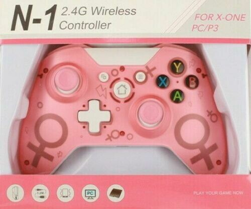 For Microsoft Xbox One/S/X/E/Windows 10 PC Enhanced Pad PINK Wireless Controller