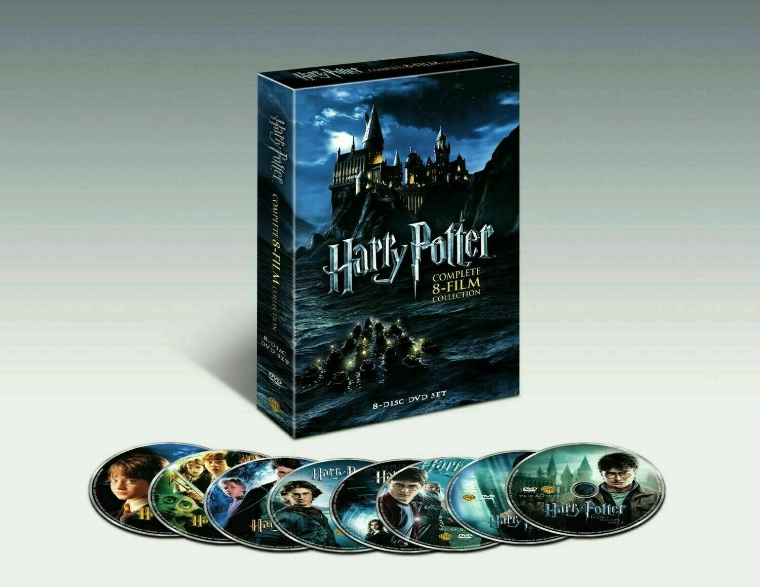 Brand New Harry Potter Complete 8-Film Collection DVD, 2011, 8-Disc,