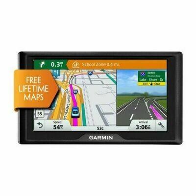 Garmin Drive 60LM Auto GPS with Lifetime Continental US Maps & 6