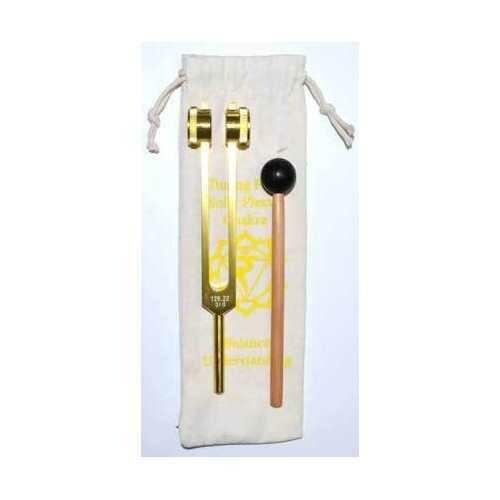 """8 1/2"""" Solar Plexus (yellow) tuning fork"""