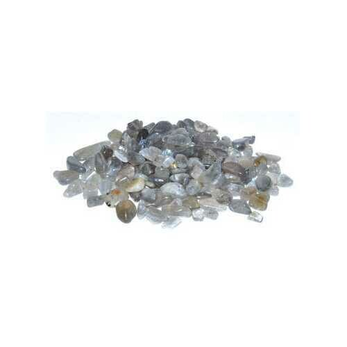 1 lb Labradorite tumbled chips 6-8mm