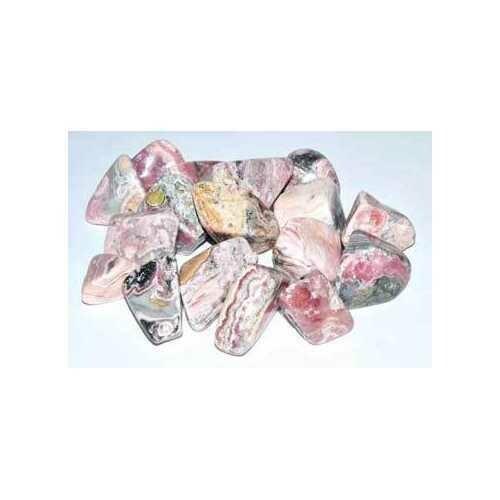 1 lb Rhodochrosite tumbled stones