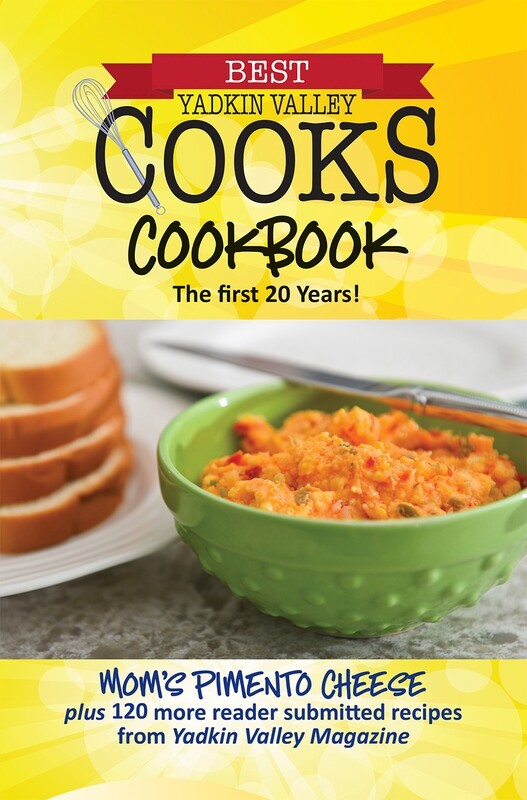 Best Yadkin Valley Cooks Cookbook. The First 20 years!