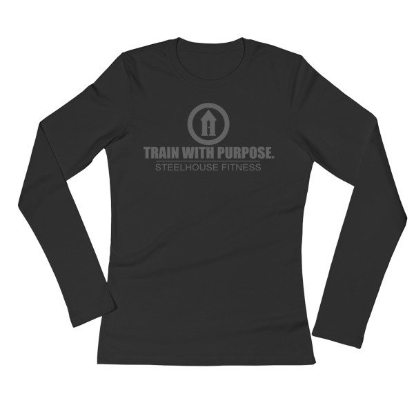 Ladies' Long Sleeve - Train with Purpose 2
