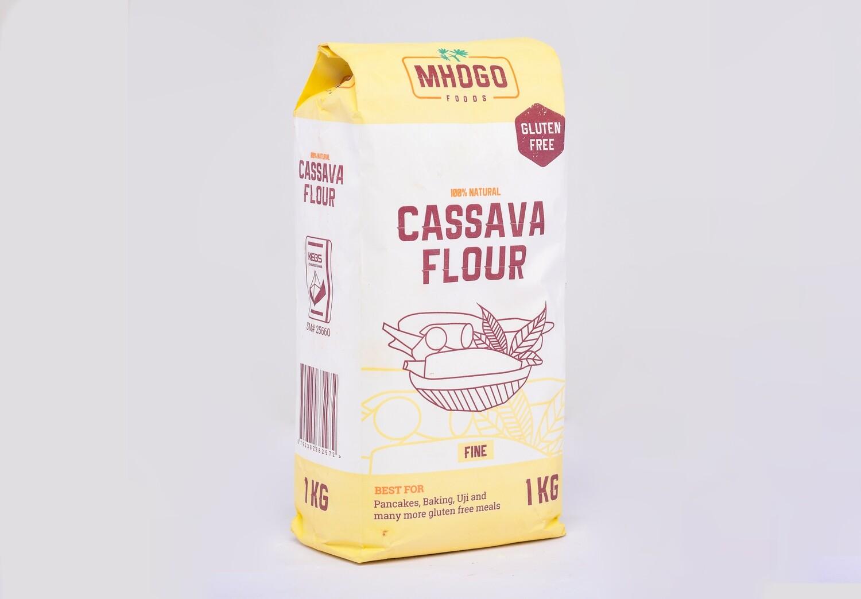 6 Pack 1KG Mhogo Foods Cassava Flour