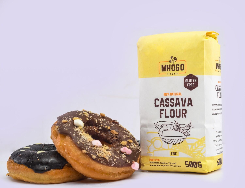 6Pack 500g Mhogo Foods Cassava Flour