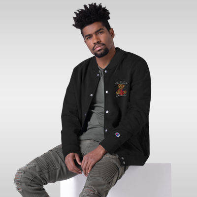 """""""No Fake Love"""" (Embroidered Champion Bomber Jacket)"""