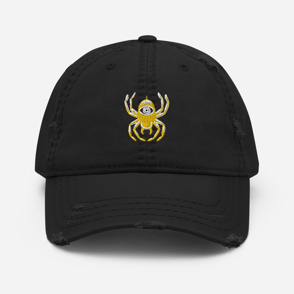 U VISION (Distressed Dad Hat)