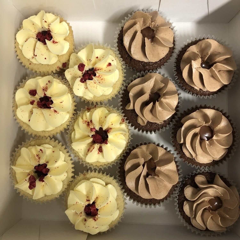 12 X  Vegan Cupcakes