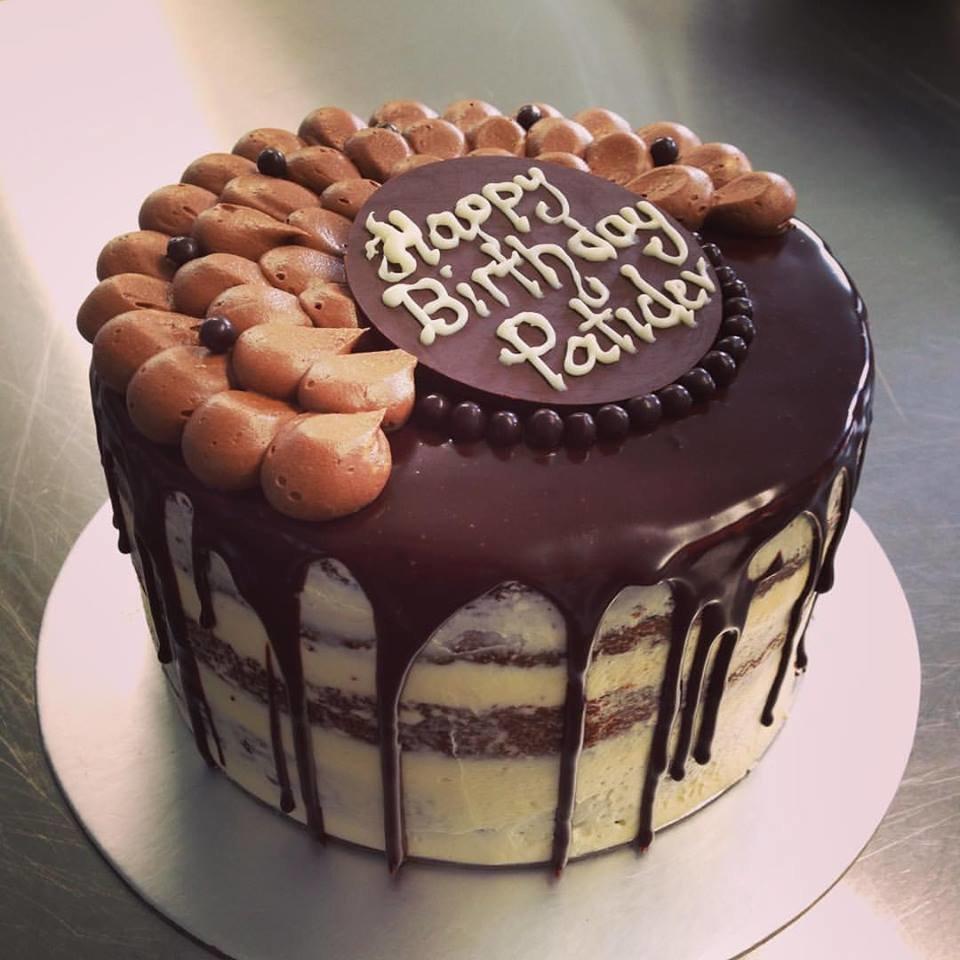 Chocolate & Orange Almond Cake