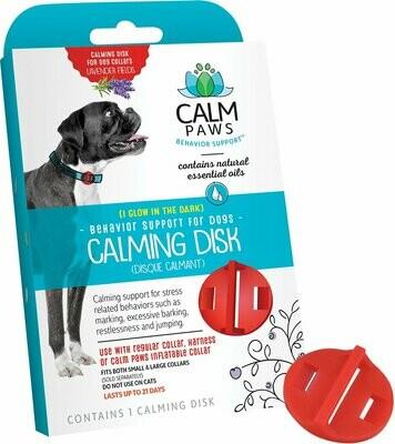 Calm Paws успокаивающий диск на ошейник, для собак