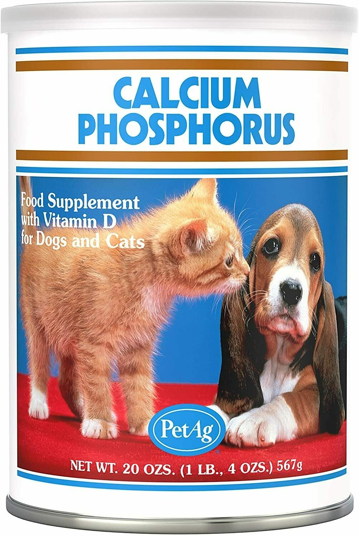 PetAg Calcium, Phosphorus, D3, для кошек и собак