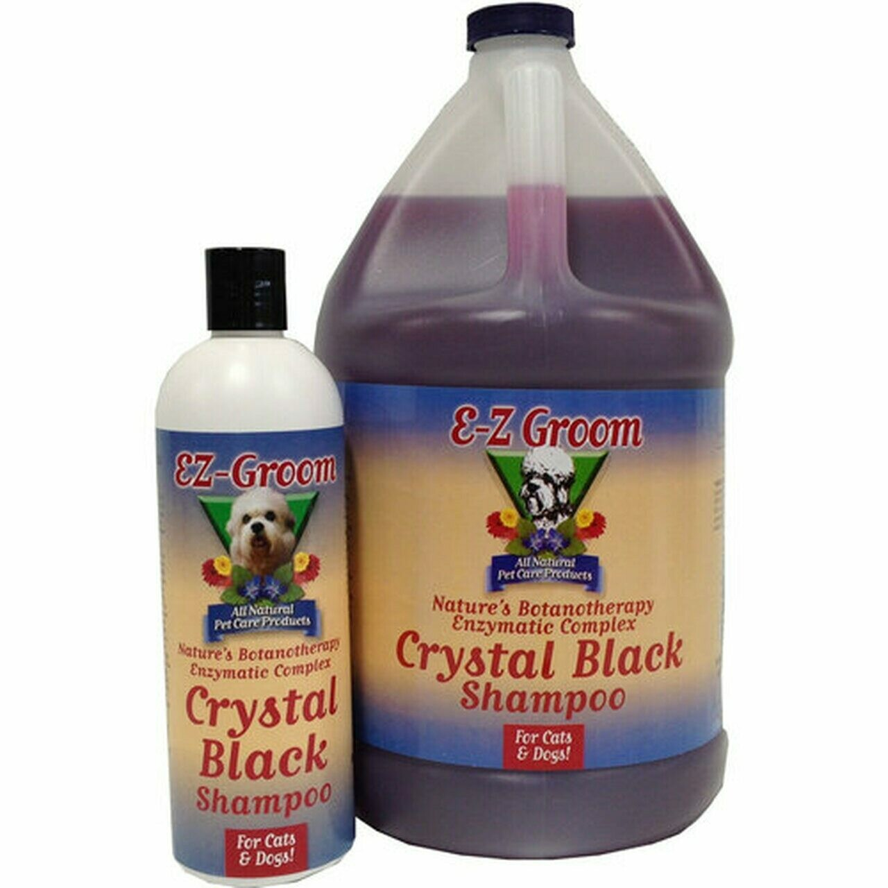 EZ-Groom Crystal Black шампунь Черный кристалл