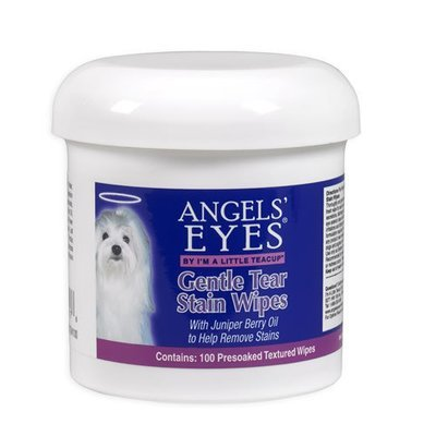 Angels' Eyes Gentle Tear Stain Wipes / Влажные диски