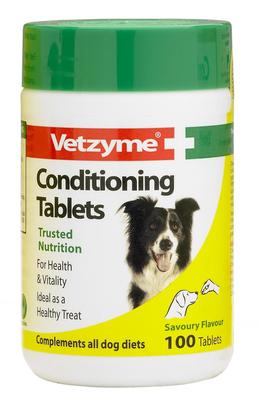 Vetzyme Conditioning Tablets Ветзим витамины для собак
