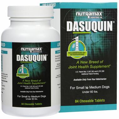 Dasuquin (Дазикин) для мелких и средних пород собак, уп. 84 шт