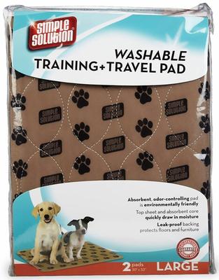 Simple Solution Washable Training & Travel Pad. Впитывающие пеленки многоразового использования, уп. 2 шт