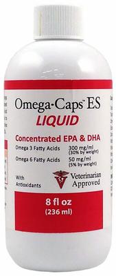 Omega caps ES Омега-жидкость, для кошек и собак, флакон 236 мл