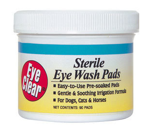 Miracle Care Sterile Eye Wash Pads стерильные диски для глаз 90 шт